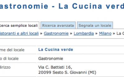 La Cucina Verde - Sesto San Giovanni (MI)