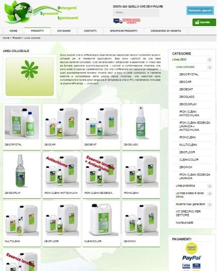 Prodotti sgrassanti e detergenti biologici online