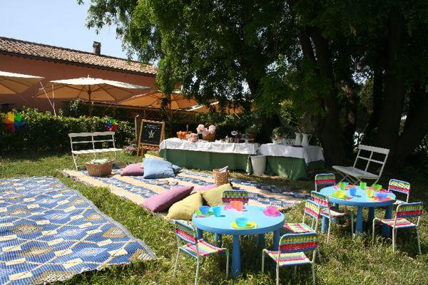 Festa Conpleanno Villa Borghese Nettuno