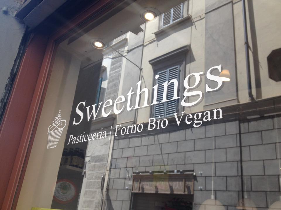 Sweethings forno-pasticceria vegana a Firenze