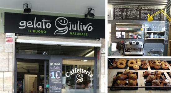 Gelato Giulivo, gelateria vegan a Roma- zona Centocelle