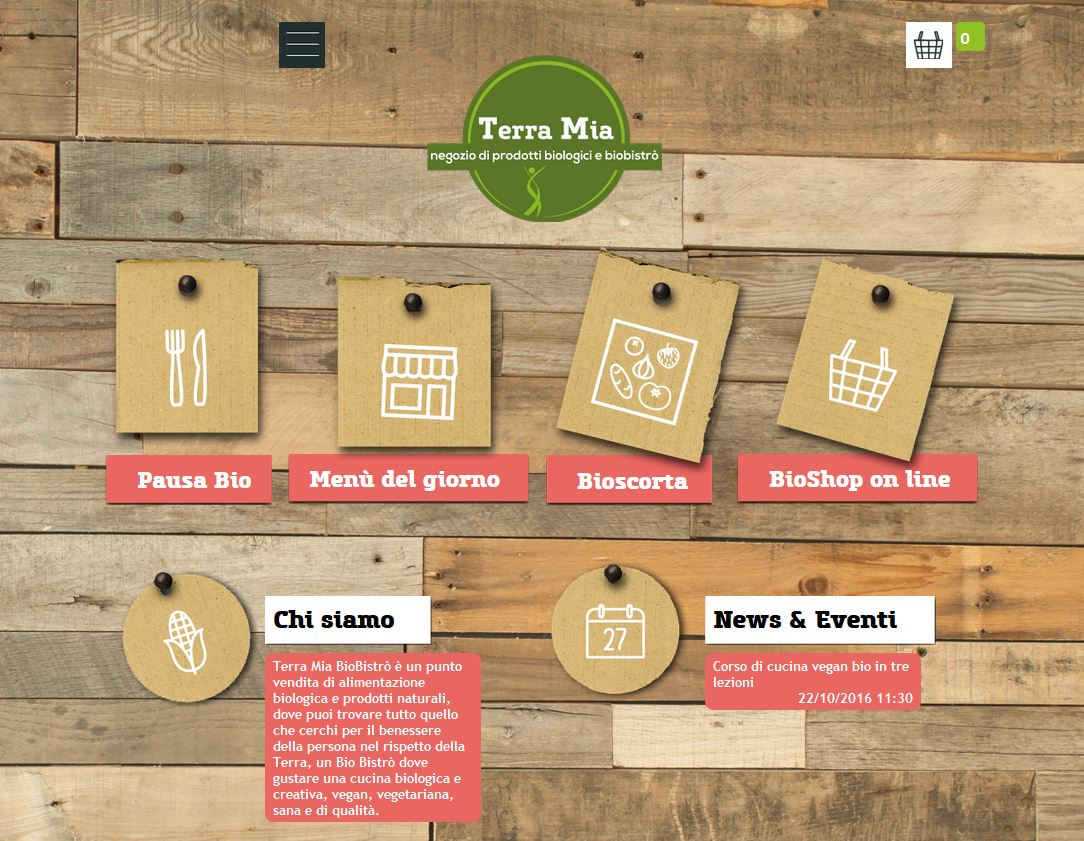 TerraMia BioBistrò e alimenti biologici a Roma