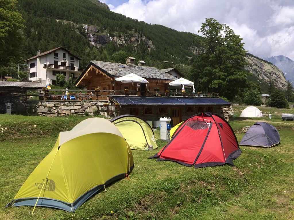 Campeggio Casa Bianca a Ceresole Reale (TO)